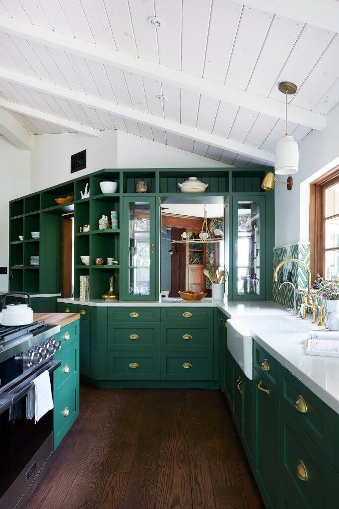 Green Kitchens - West Midlands Home Improvements Blog