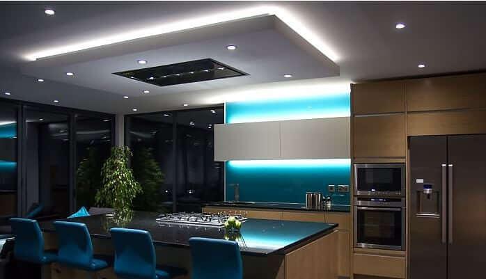 Mood or Accent Kitchen Lighting - West Midlands Home Improvements Blog
