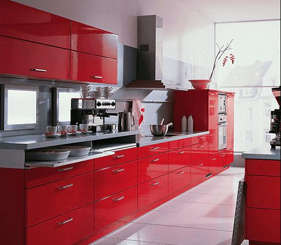 Red Kitchens - West Midlands Home Improvements Blog