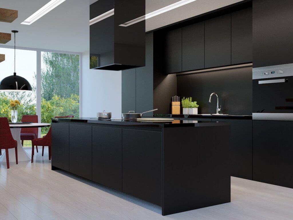 Black Kitchens - West Midlands Home Improvements Blog