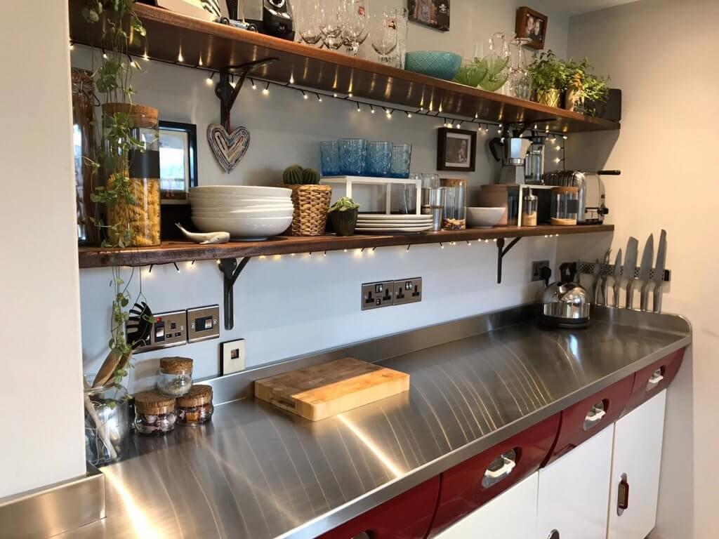 Stainless Steel Kitchen Worktops - West Midlands Home Improvements Blog