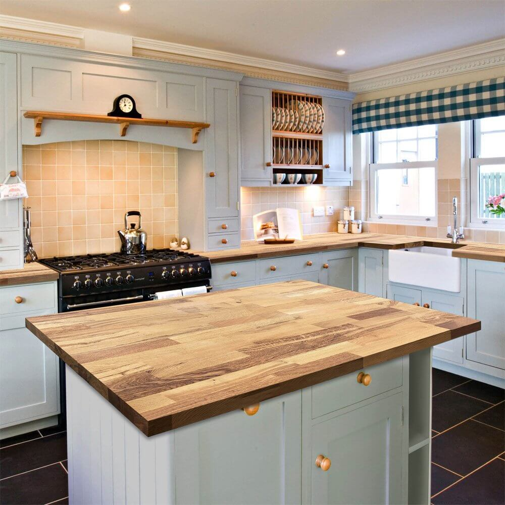 Hardwood Kitchen Worktops - West Midlands Home Improvements Blog