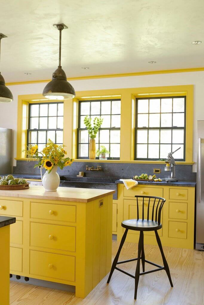 Yellow Kitchens - West Midlands Home Improvements Blog