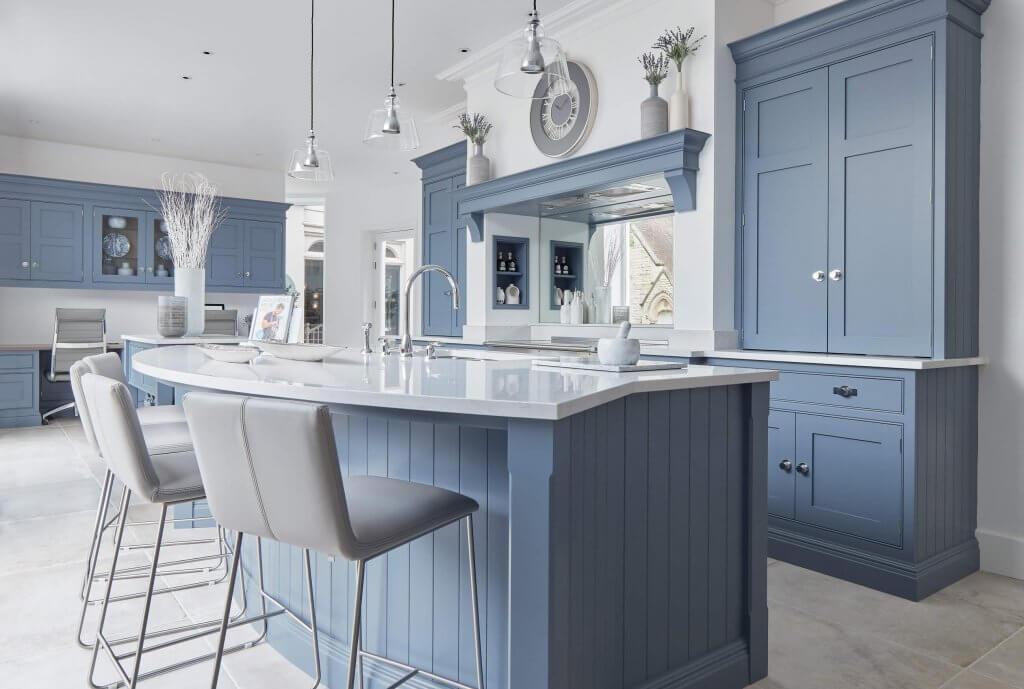 Blue Kitchens - West Midlands Home Improvements Blog