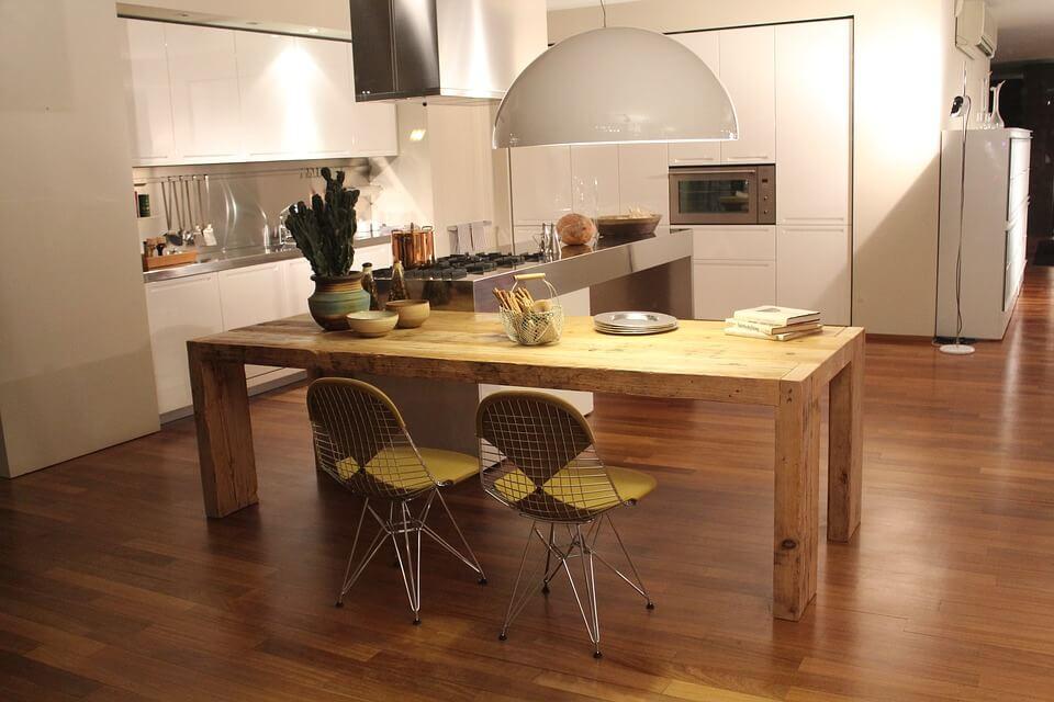 Kitchen Wood Flooring - West Midlands Home Improvements Blog