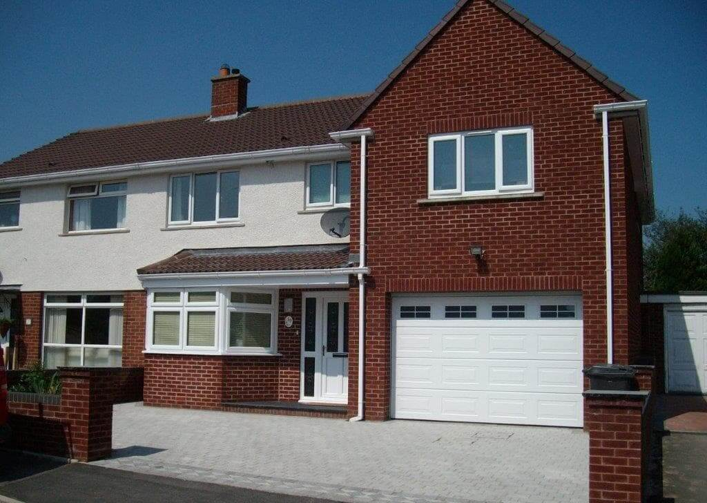 The Double Storey Garage Extension