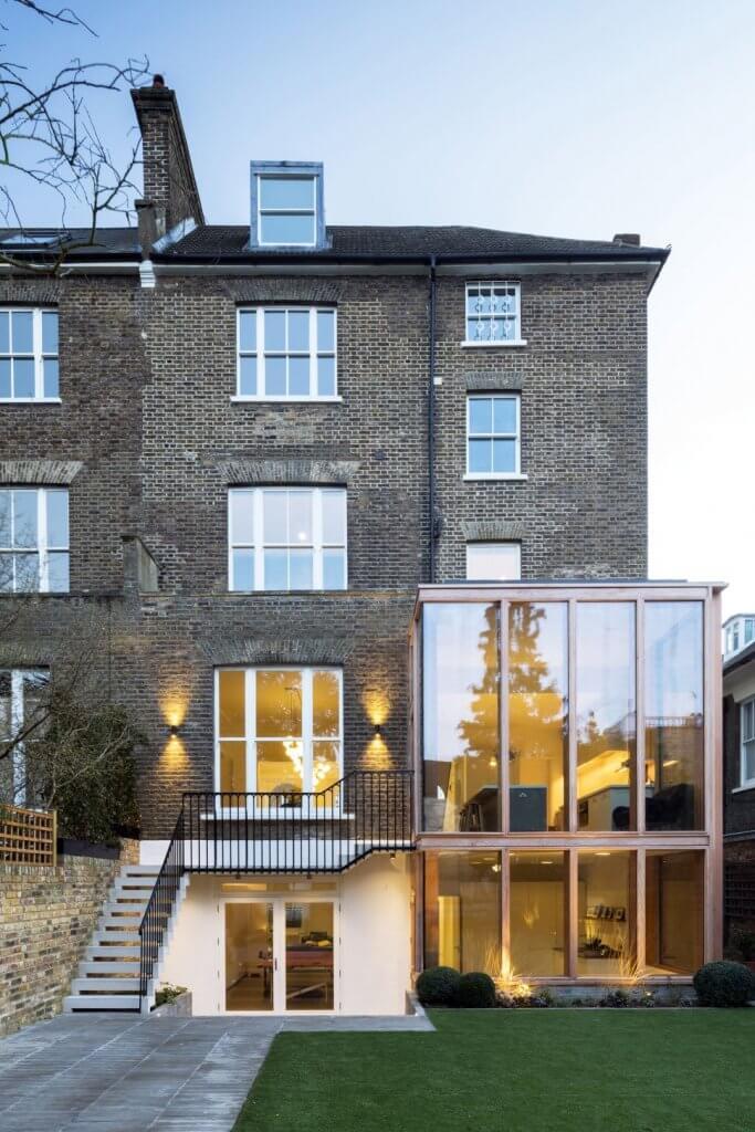 The Double Storey Basement Extension